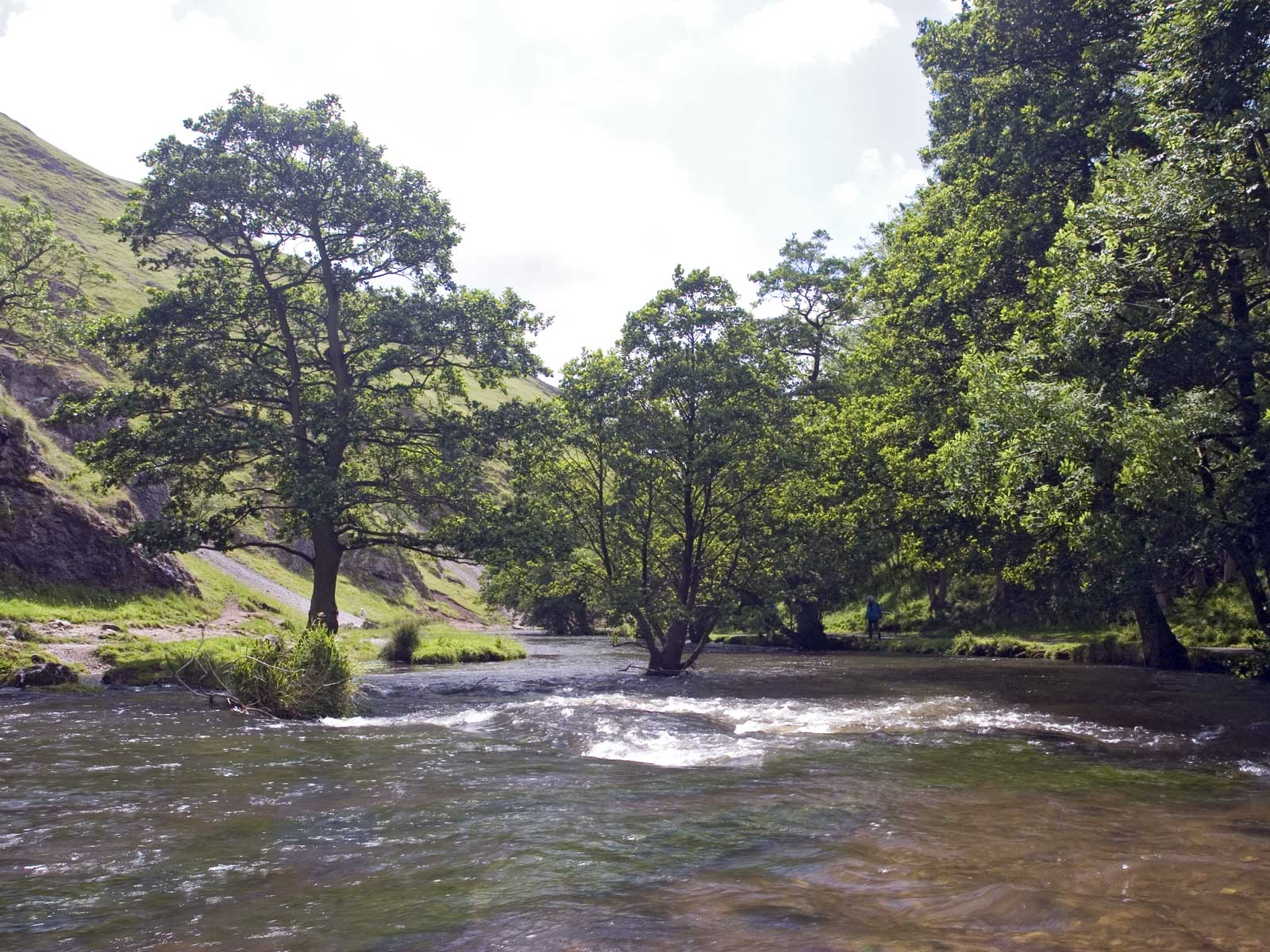 River Dove at Dovedale