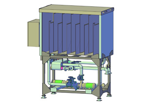 tempering module for chilled water plant optimization